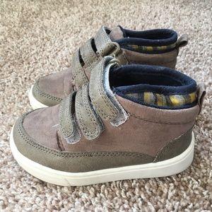 WONDER NATION Velcro High Top Boys Sneakers 8